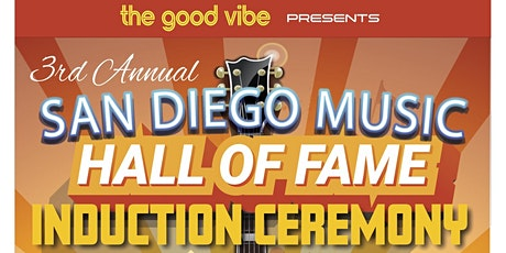 3rd Annual San Diego Music Hall of Fame Induction Ceremony tickets