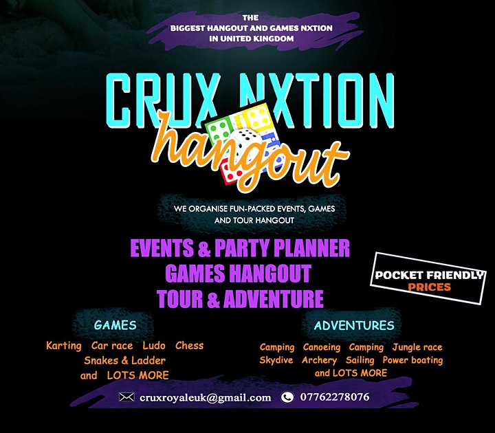 Crux Nxtion Hangout out image