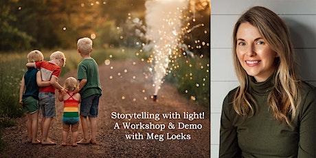 Storytelling with Light! (workshop with Meg Loeks!) - PhotograpHER 2021 tickets