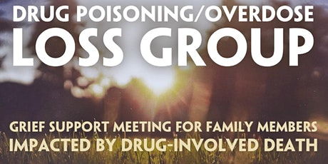 ONLINE Drug Poisoning/Overdose Loss Support Meeting DEC *NOTE2ndMonday tickets