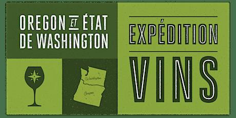 Expédition des Vins Oregon et État de Washington tickets