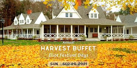 Harvest Buffet | Eliot Festival Days tickets