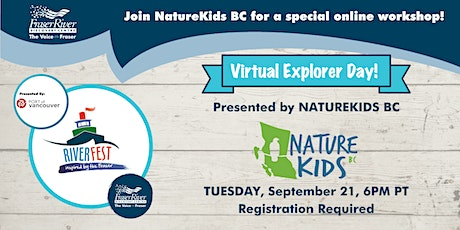 On-line family friendly activity with NatureKids BC! tickets