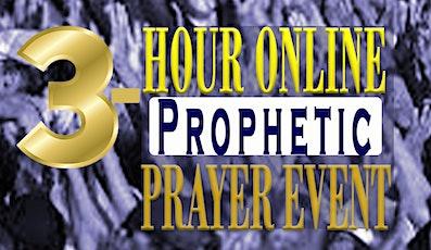 3-Hour Online Prophetic Prayer Event tickets