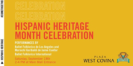 Hispanic Heritage Month Celebration tickets