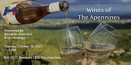 Aperitivo Italiano - Wines of the Apennines tickets