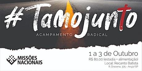 TAMO JUNTO - ACAMPAMENTO DE MISSÕES ingressos