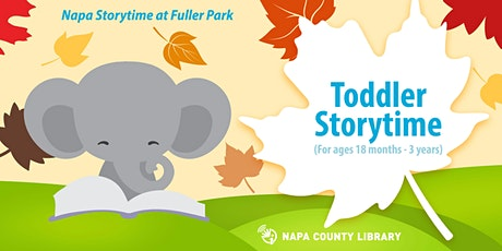Storytime in the Park: Napa Toddlers tickets