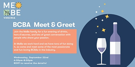 BCBA Meet & Greet Reception: See what MeBe is all about! tickets