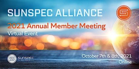SunSpec Alliance 2021 Annual Member Meeting tickets