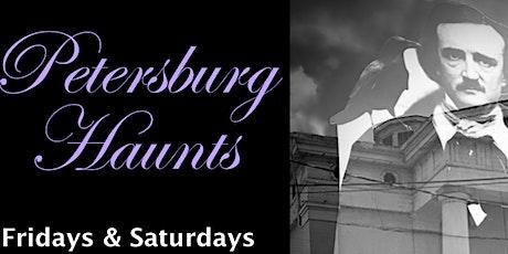 Petersburg Haunts Walking Ghost Tour tickets