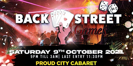 BackStreet Games  Night Party   tickets