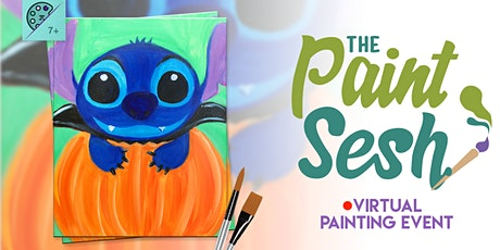 """Online Painting Class – """"Count Stitchula"""" (Virtual Paint Night at Home) tickets"""