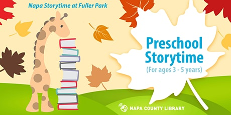Storytime in the Park: Preschool Storytime tickets
