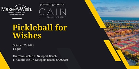 Pickleball for Wishes tickets