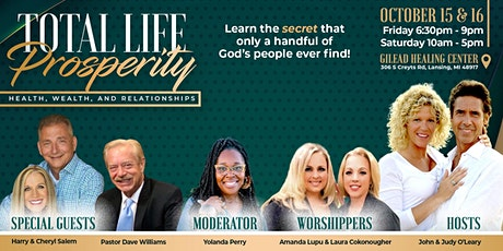 Total Life Prosperity tickets