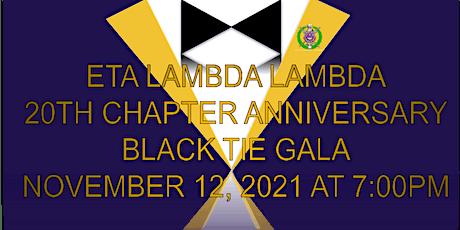 Eta Lambda Lambda 20 Year Chapter Anniversary Gala tickets