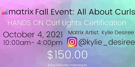 Matrix Fall Event: Curl Lights Certification tickets