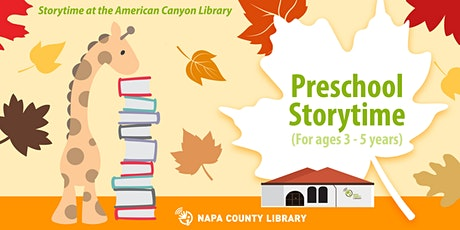 Fall Storytime: American Canyon tickets