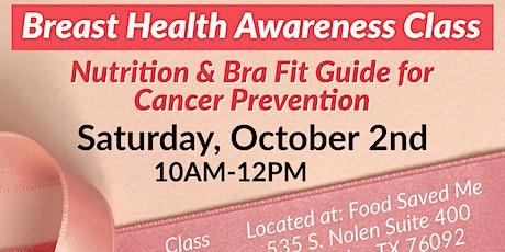 FREE Breast Health Class tickets