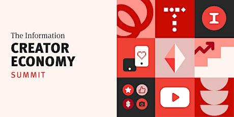 The Information's Creator Economy Summit biglietti
