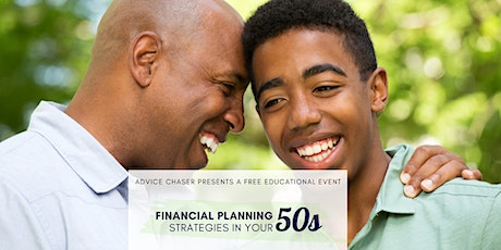 Financial Planning Strategies in your 50s tickets