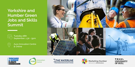 Yorkshire and Humber Green Jobs and Skills Summit tickets