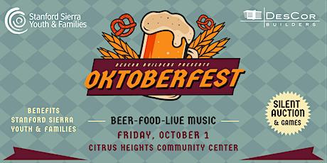 DesCor Builders Oktoberfest 2021 tickets