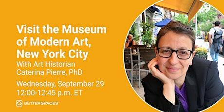 Visit the Museum of Modern Art, New York City tickets