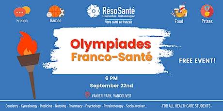 Olympiades Franco-Santé tickets