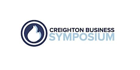 Creighton Business Symposium 2021 tickets