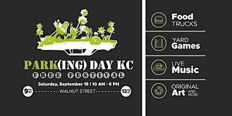 Kansas City's PARK(ing) Day Festival tickets