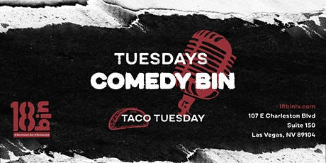 Tuesday Night Tacos & Comedy tickets
