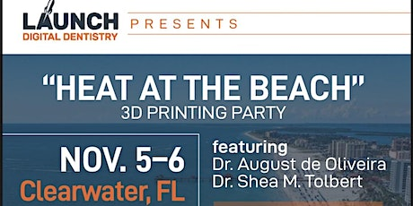 """""""Heat at the Beach"""" 3D Printing Party tickets"""