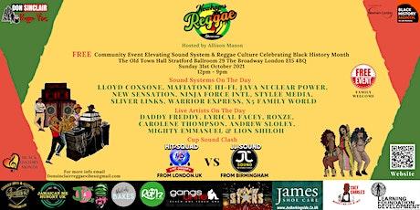 Don Sinclair Reggae Vibes Presents Newham's Reggae Showcase tickets