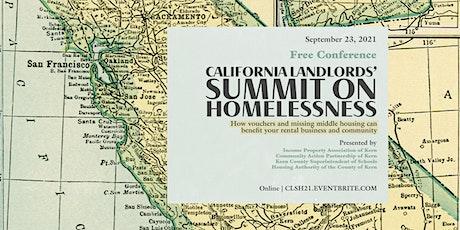 California Landlords'  Summit on Homelessness 2021 tickets