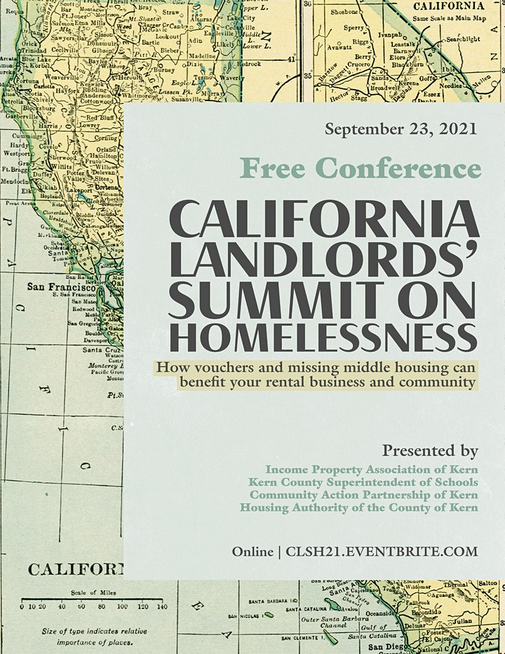 California Landlords'  Summit on Homelessness 2021 image