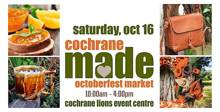Cochrane MADE OctoberFest Market image