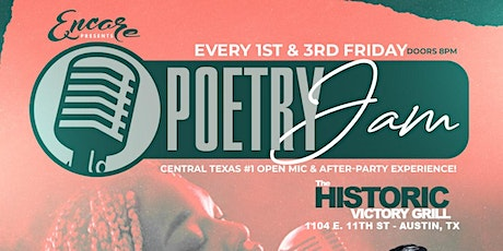 Poetry Jam | Open Mic and After-Party 9.17 tickets