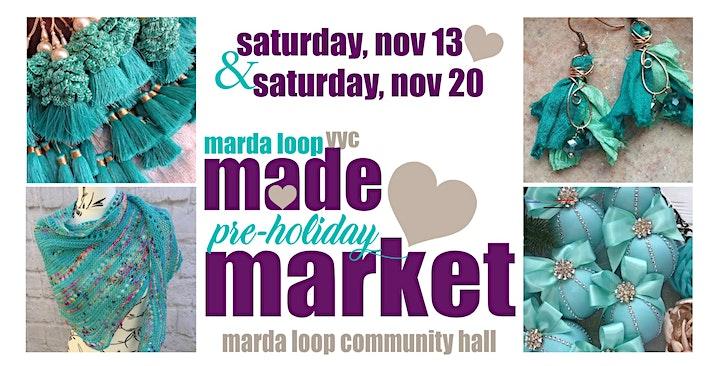 Marda Loop MADE Holiday Market (Nov 13) image