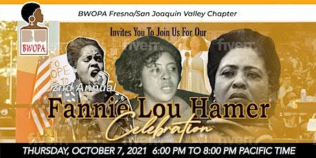 """Keeping the Faith"" Fannie Lou Hamer 2021 Celebration tickets"