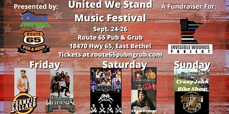 United We Stand Music Festival - Cruise For Troops After Party w/ Hairball tickets