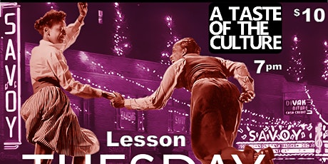 A Taste and Experience of Harlem's most famed dance  - The Lindy Hop! tickets