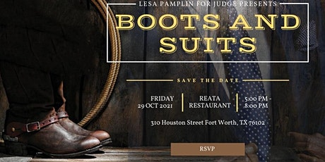 """Lesa Pamplin for Judge Campaign Presents """"Boots and Suits"""" tickets"""