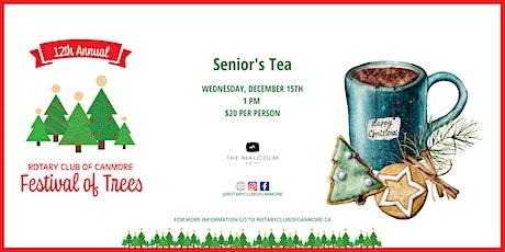 Rotary Festival of Trees - Seniors Tea, Sunday, December 15, 2021 billets