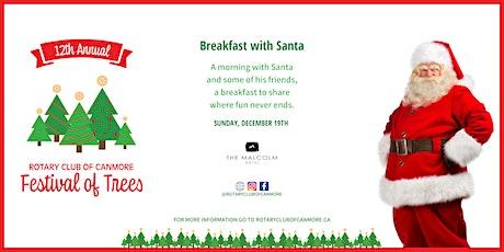 Rotary Festival of Trees - Breakfast with Santa, Sunday, Dec 19 2021 11 am billets