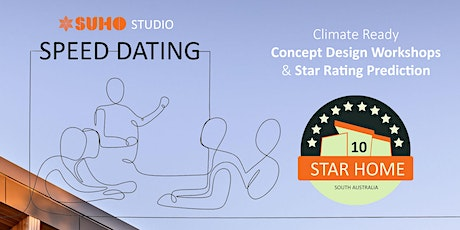 SUHOstudio Speed Dating - Climate Ready Home Workshops tickets