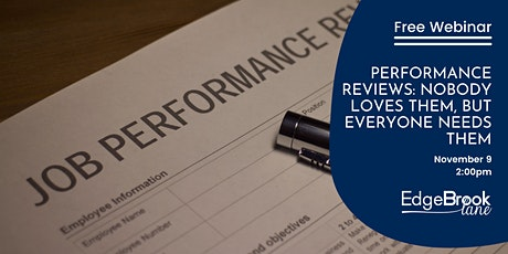 Performance Reviews: Nobody loves them, but everyone needs them tickets