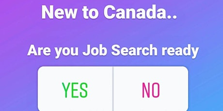 Job Search for Newcomers tickets