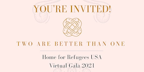 Home for Refugees USA Annual Virtual Gala 2021 tickets